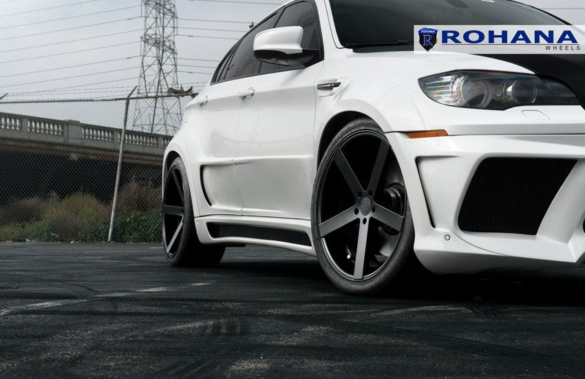 Rohana Rc22 Wheels For Bmw 5x120mm Matte Black 19 20 22in