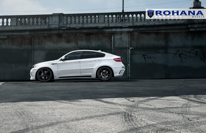 Rohana Rc22 Wheels For Bmw 5x120mm Matte Black 19 20 22in
