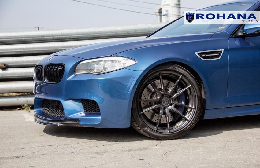 Rohana Rf2 Wheels For Bmw 5x120mm Matte Black 19in 22in