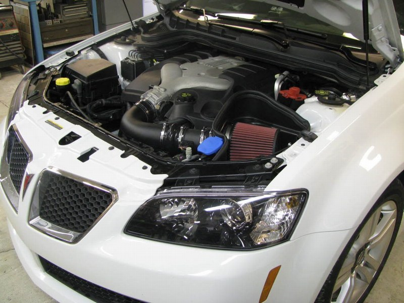 Installed Intake on a G8