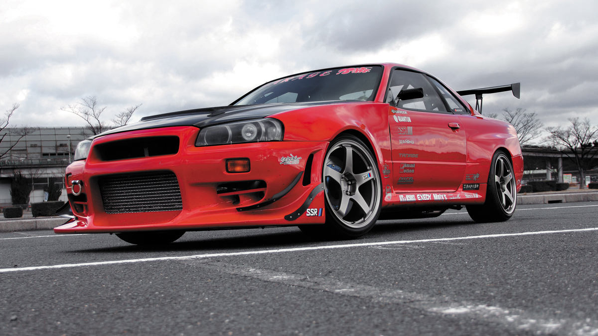 R35 R34 SSR GTF01 WHEELS LOWERED TRACK GODZILLA R32 R34, MODbargains
