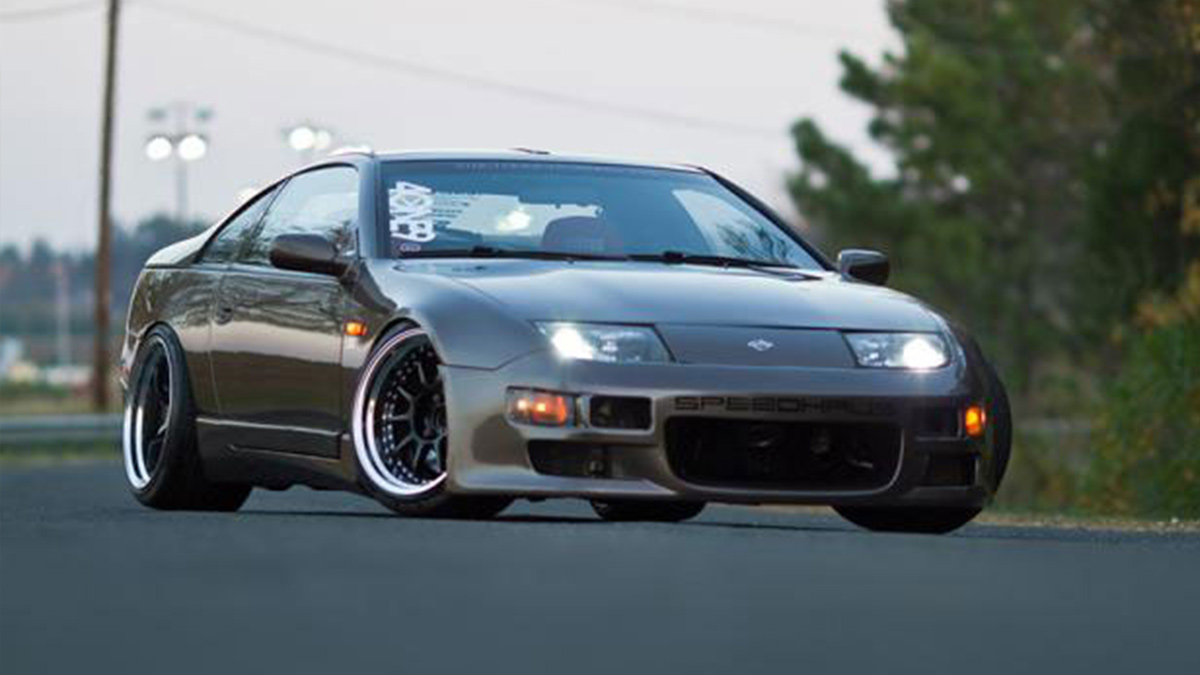 Nissan 300ZX turbo with brembo brakes SSR sp3 wheels z lady 350z, Modbargains