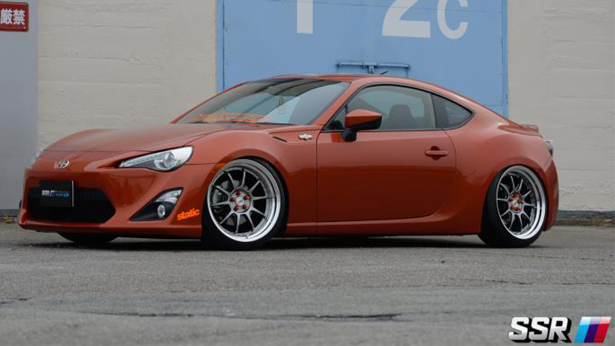 frs f86 toyota scion on sssr sp3 professor turbo lowered, modbargains