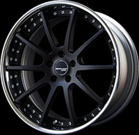 SSR Wheels Executor CV01 Flat Black