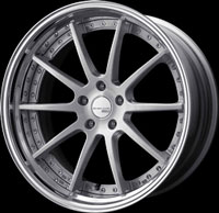 SSR Wheels Executor CV01S Brushed