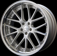 SSR Wheels Executor CV02S Brushed