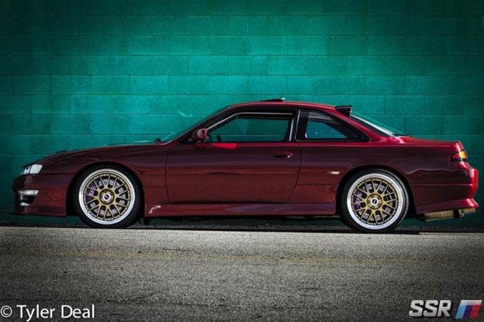 SSR Wheels Professor MS1 240sx