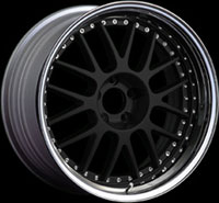 SSR Wheels Professor MS1 Flat Black