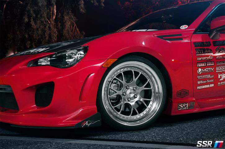 SSR Wheels MS3 BRZ