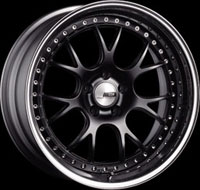 SSR Wheels MS3 Flat Black