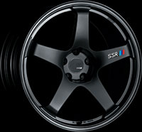 SSR Wheels GTF01 Flat Black