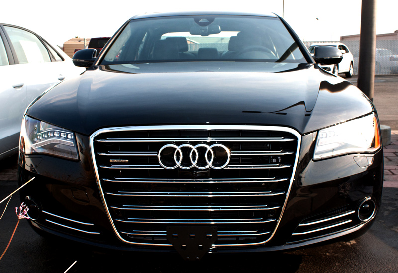 black rear frame accessories gift stainless large plate license s steel audi products line for front cover