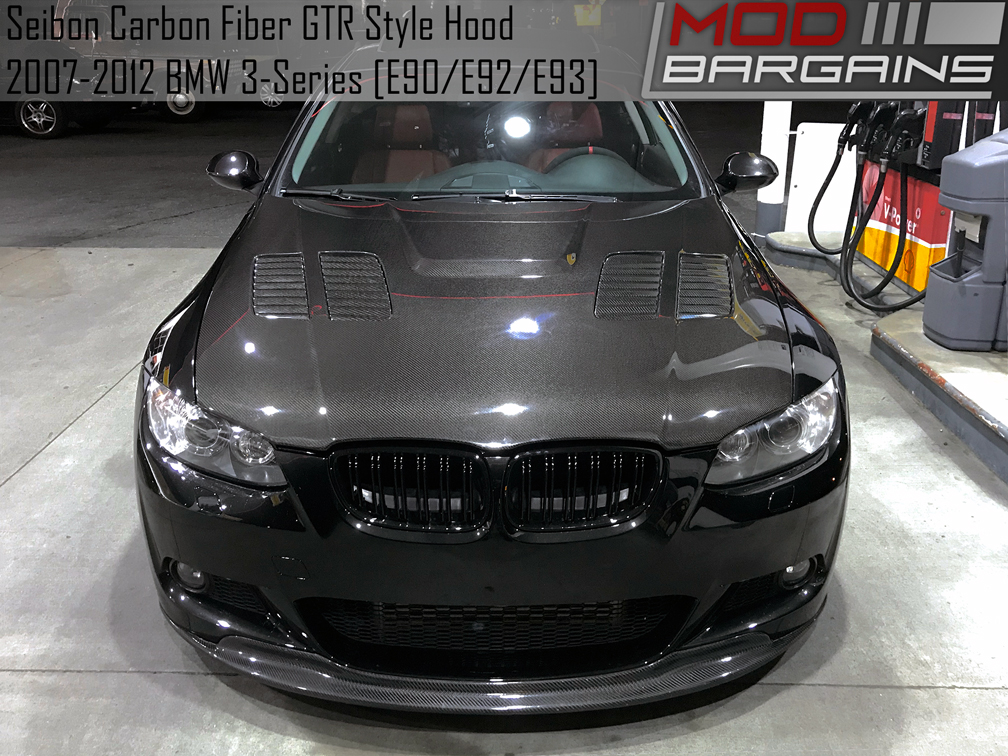 Seibon Carbon Fiber GTR Style Hood for E90/E92 BMW 3 Series
