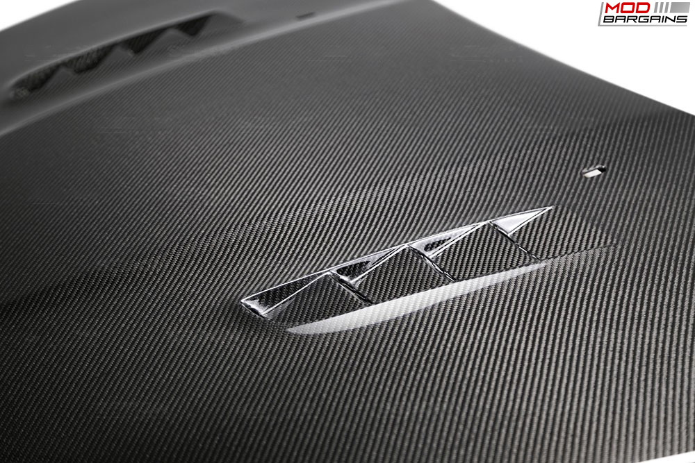 Seibon Carbon Fiber RS-Style Hood for Ford Focus