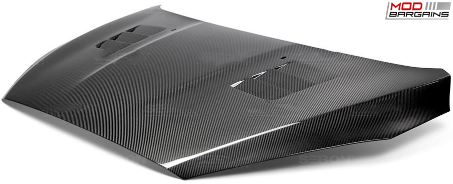 Seibon Carbon Fiber TS-Style Hood for Ford Focus