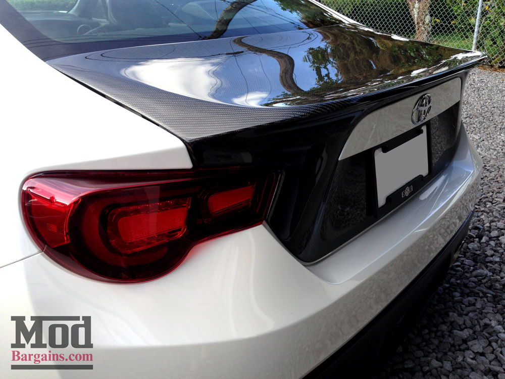 Seibon Carbon Fiber CSL Trunk for Scion FR-S Subaru BRZ ZN6 ZC6