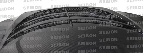 Seibon Carbon SC Style Carbon Fiber Hood Close Up