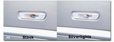 Stock Sidemarkers vs Silverlights