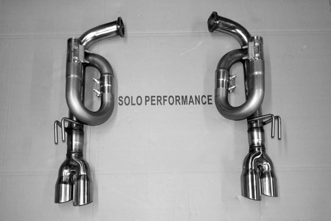 Solo Performance Pontiac G8 V8 Axle Back Exhaust Kit