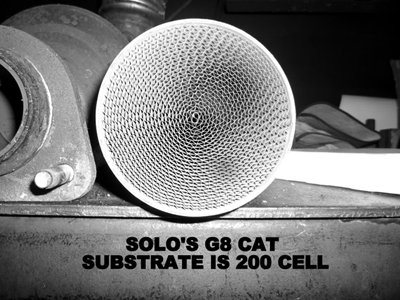 Solo Performance Catalytic Converters 200 Cells