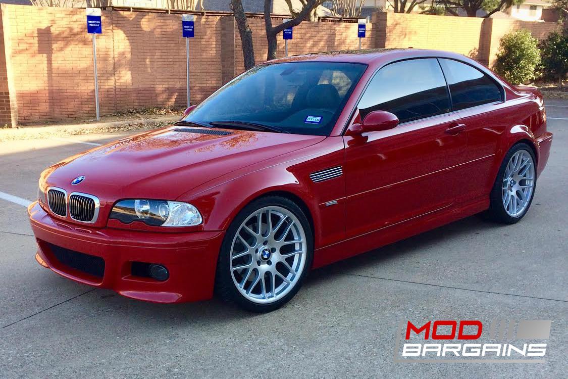 Imola Red BMW E46 M3