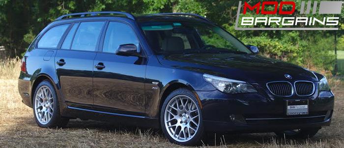 Sportline 8S Wheels on BMW 528i