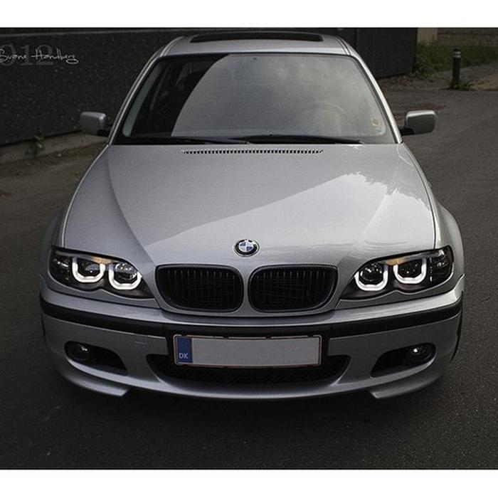 Spyder Black Projector LED DHalo Headlights For E BMW - 2005 bmw 328i