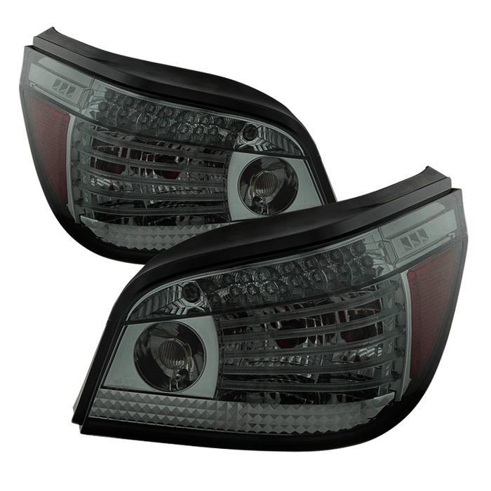 Spyder LED Smoked Tail Lights For BMW Iii - 2010 bmw 530i