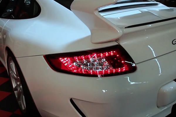 Spyder Red Clear Led Tail Lights For 2005 08 Porsche 911