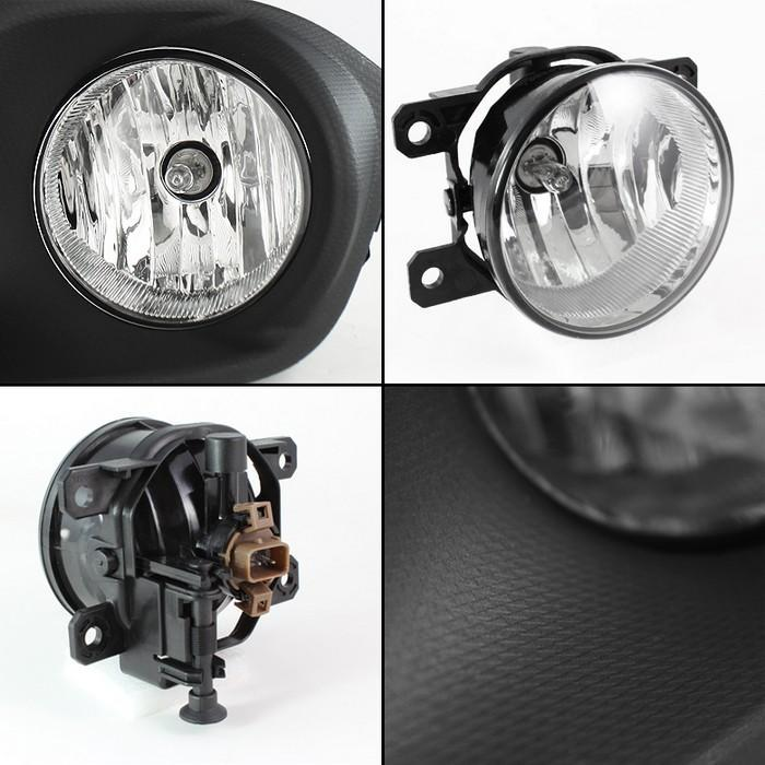 Spyder Clear Fog light for 2012-15 Scion FR-S/ BRZ [ZN6] FL-CL-SFRS13-C