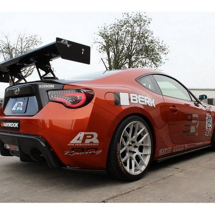 Spyder LED Lightbar Smoked Tail Lights for 2012-15 Scion FR-S/Subaru BRZ SFRS12-LBLED-SM