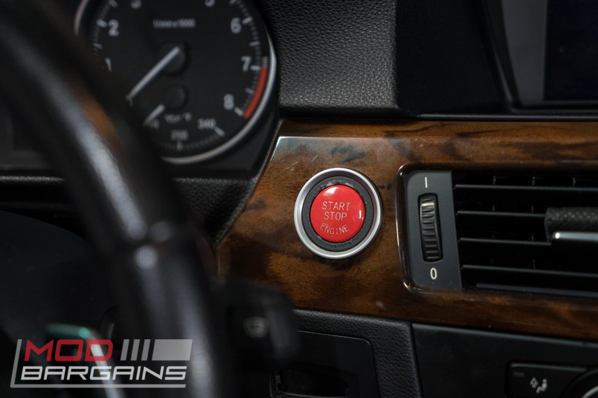 BMW Start Stop Red Button for E Chassis vehicles. E82 E90 E91 E92 E93 E60 E63
