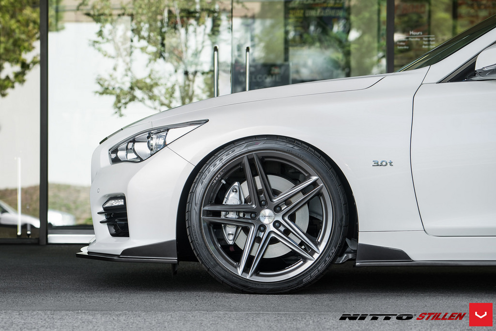 q50 q50s front splitter front lip thing on front bumper