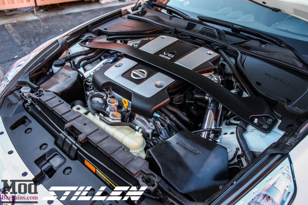 Stillen Gen 2 Short Ram Cold Air Intake For 2007 13 Infiniti G35 G37 Nissan 350z 370z Z33 Z34