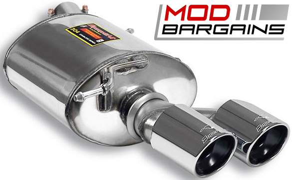 Supersprint Dual Left Rear Exhaust for 09-11 BMW 335d E90