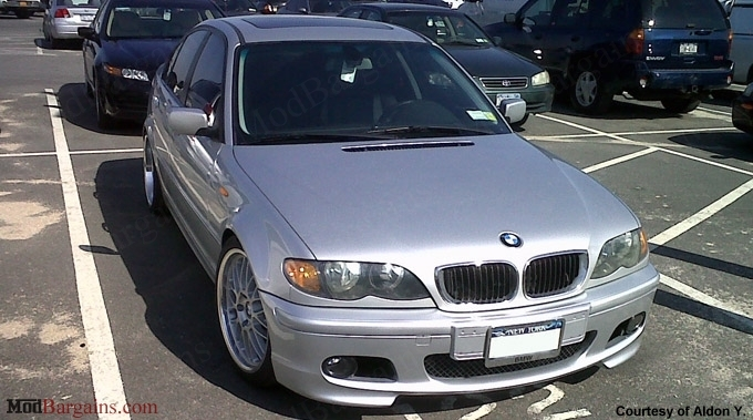MTech II Style Front Bumper for BMW E46
