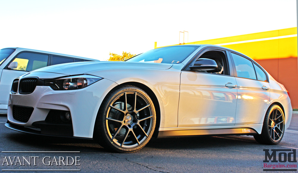F30 M Sport Style Side Skirts For 2012 Bmw F30