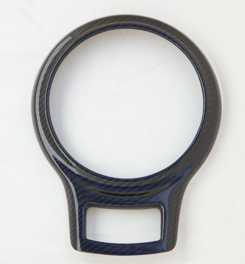 Carbon Fiber Gear Shifter Bezel Cover for 2012+ Scion FR-S/Subaru BRZ Installed at ModBargains