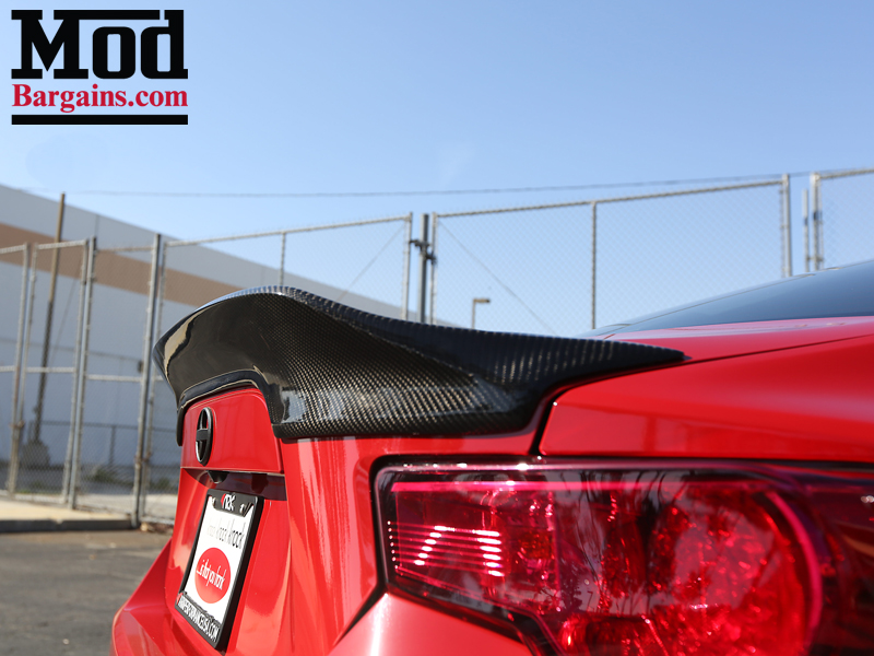 FRS with CF Trunk Spoiler Side