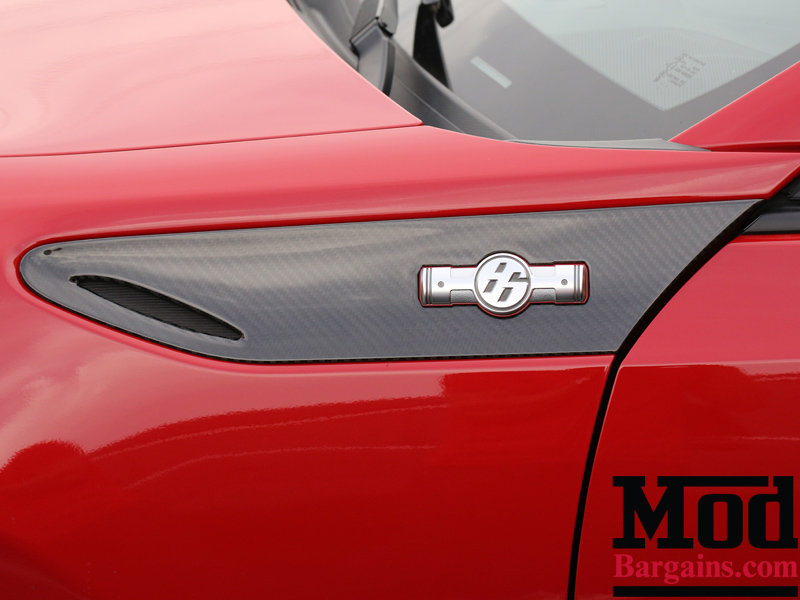 Carbon Fiber Fender Trim Panels for 2012-14 Scion FR-S Subaru BRZ [ZN6/ZC6] Installed at ModBargains.com 5