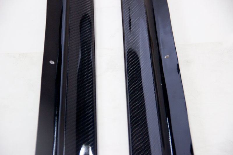 carbon fiber side skirts for frs and brz