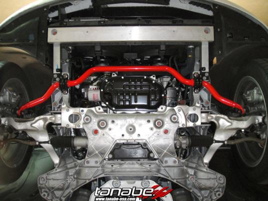 Front Tanabe Swaybar Installed G37