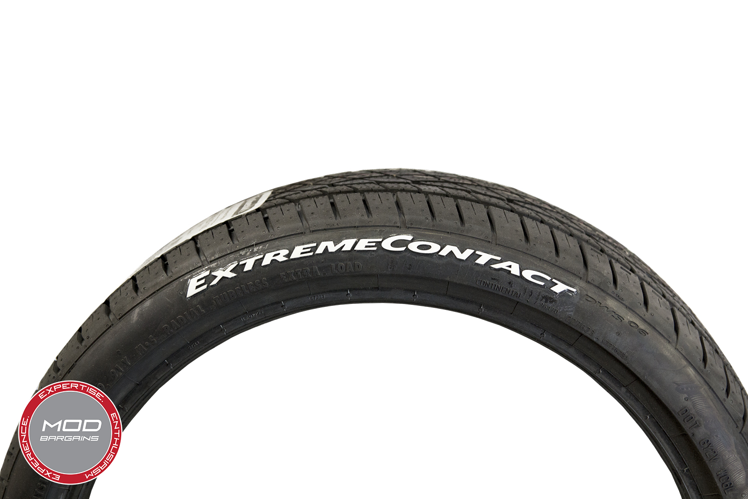 Continental Tire Stickers - Extreme Contact Logo