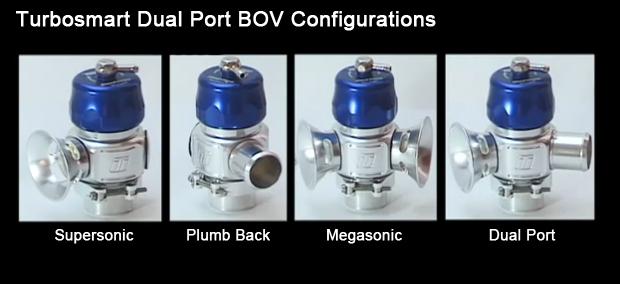 Turbosmart Dual port Blow Off Valve