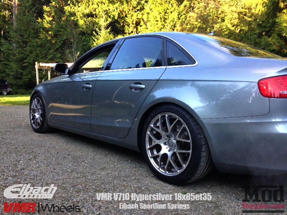 Eibach Pro-Kit Springs for 2008+ Audi A4 [B8] 15107.140 ...