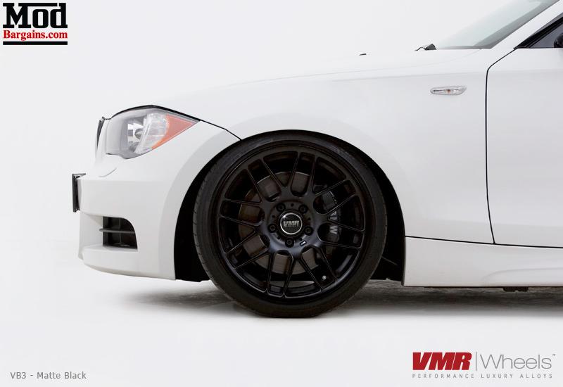 VMR V703 VB3 CSL Style Wheels for BMW - Matte Black - 18