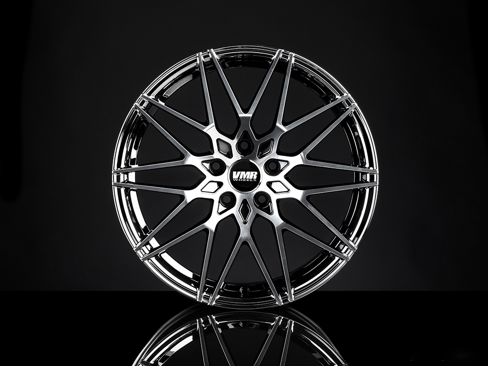 VMR V801 Wheels in Mercury Black Metallic