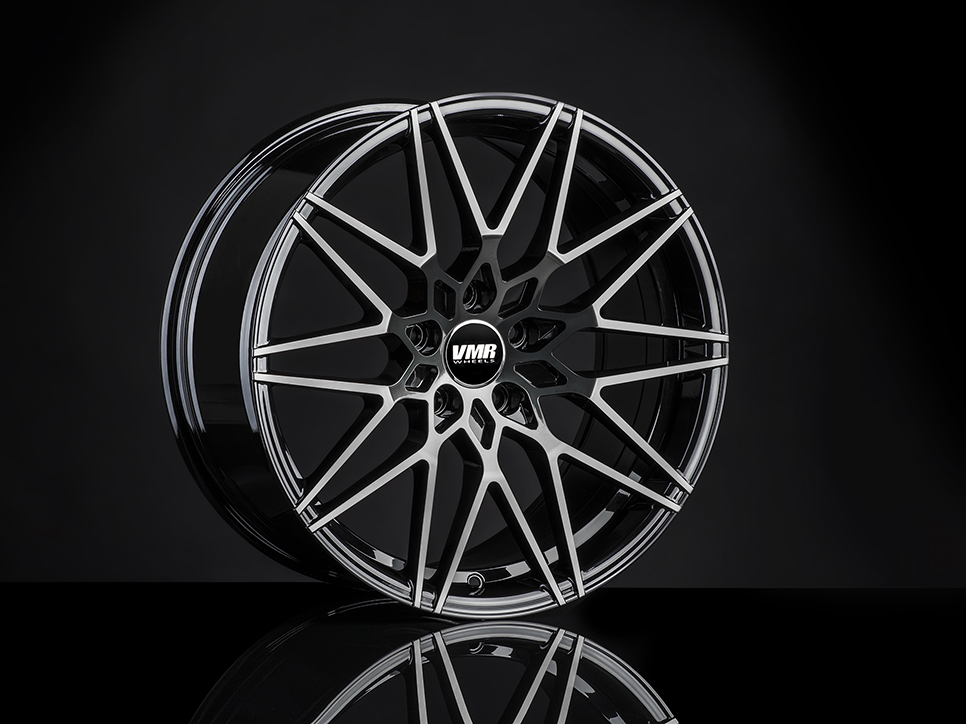 VMR V801 Wheels in Titanium Black Shadow