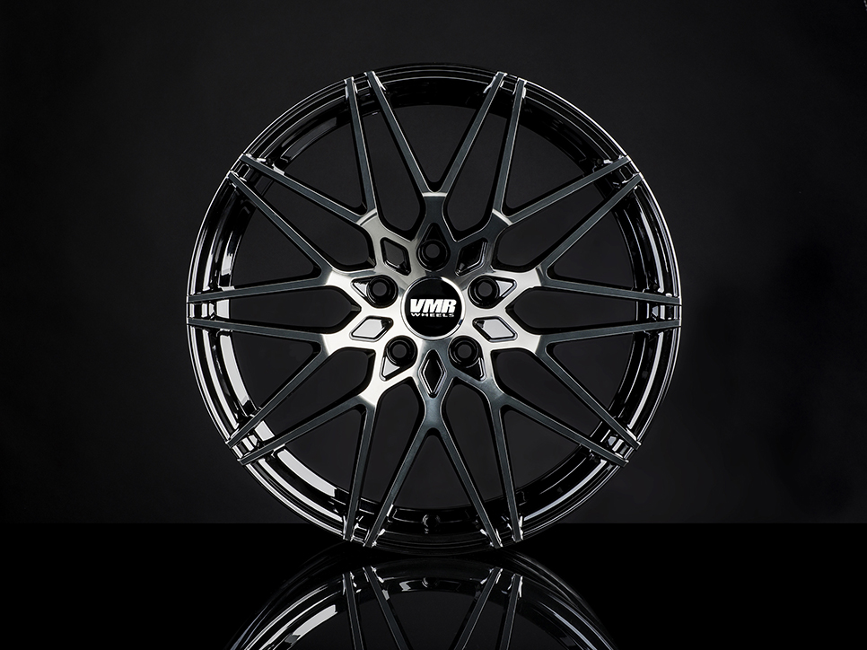 VMR V801 Wheels in Titanium Black Shadow (2)