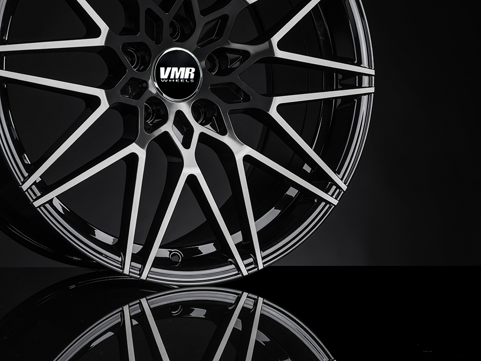 VMR V801 Wheels in Titanium Black Shadow (6)